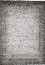 Teppich Flora, grau (50/80 cm)