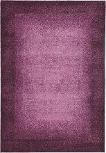 Teppich Flora, lila (50/80 cm)