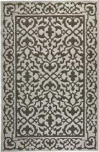 Teppich Florenz, grau (80/150 cm)