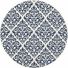 Teppich Florissant in Marineblau ClassicLiving