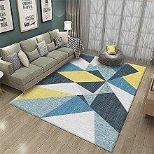 Teppich Flur Teppich Leicht zu reinigender gelb