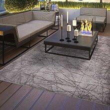 Teppich für Bad Flur und Küche, rutschfester Latexrücken, waschbar pflegleicht mit modernem Design schlichter Kelim Kilim Teppich Oberfläche hochwertig (80cm x 300cm)