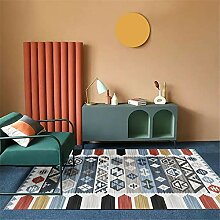 Teppich Für Balkon blau Teppich Wohnzimmer blau