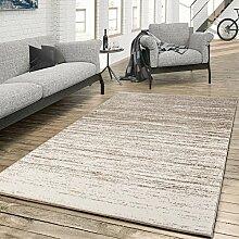Teppich für das Wohnzimmer Farbverlauf Modern Creme Beige, Größe:120x170 cm