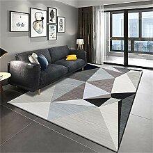 Teppich für den Balkon Wohnzimmerteppich grau