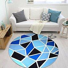 Teppich für Fußbodenheizung geeignet 120cm Rund