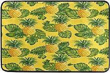 Teppich für Innen und Außen Ananas und Tropische