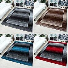 Teppich für Wohnzimmer modern design Teppiche mit 3D Effekte _1705, Maße:120 cm x 170 cm, Farbe:Braun