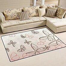 Teppich für Wohnzimmer, Schlafzimmer, Teppich mit