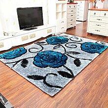 Teppich Fussmatten einer modernen europäischen Wohnzimmer Teppiche Sofa amerikanische Schlafzimmer Korea Tischmatte , 1.2*1.7m