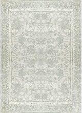 Teppich Gamache in Grau/Mintgrün Maison Alouette