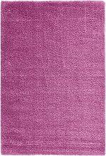 Teppich Genf, lila (50/80 cm)