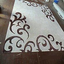 Teppich/Gepolsterte Wohnzimmer Bett Schlafzimmer Teppich/Einfaches Fenster Teppich-A 140x200cm(55x79inch)