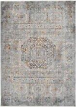 Teppich Gish in Beige/Grau