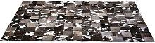 TEPPICH  Grau, Schwarz, Silberfarben, Weiß