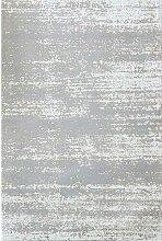 Teppich Grau/Weiß LoftDesigns