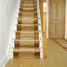 Teppich Gravesham für Treppen in Terrakotta