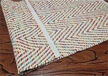 Teppich Hand Baumwolle gestreift gewebte Teppiche