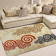 Teppich Handgeschliffener Teppich Nachttisch Nachttuch Schlafzimmer Decke Eingang Korridor ( größe : 130*190cm )