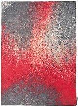 Teppich Happy in Rot Teppichgröße: 133 x 180 cm
