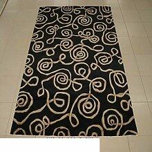 Teppich/ Haushalt Tür Decke/Moderne minimalistische Verdickung Teppich-B 140x200cm(55x79inch)