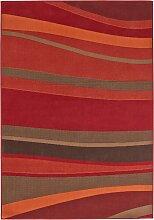 Teppich Herbst, rot (60/110 cm)