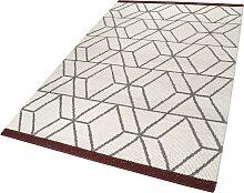 Teppich, Hexagon, Esprit, rechteckig, Höhe 8 mm,