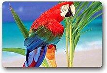 Teppich Hi Fußmatte Papagei Fußmatte Outdoor
