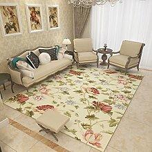 Teppich Home Arbeitszimmer Europäischen Einfache Moderne Wohnzimmer Sofa Couchtisch Teppich Schlafzimmer Nacht Matratze 120 Cm × 160 Cm ( Farbe : .B )