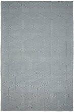 Teppich Illusory in Grau Plantation Rug