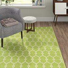 Teppich in Grün Canora Grey