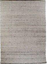 Teppich in Hellgrau Skandi Design