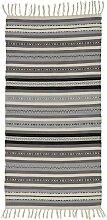 Teppich in Naturfarben/Grau ca.70x140cm