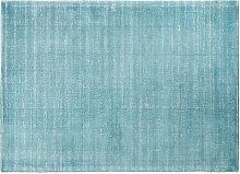 Teppich in Petrolblau 140x200