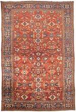 Teppich in Rot, Blau, Grün & Gelb von Ziegler,