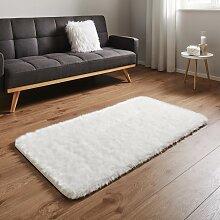 Teppich in Weiß ca.80x150cm 'Romy'