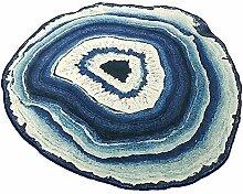 Teppich, Jährliche Runde Runder Teppich Idyllisch