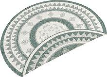 Teppich, Jamaica, bougari, rund, Höhe 5 mm,