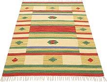 Teppich, Kelim Mirza, carpetfine, rechteckig,