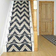 Teppich Kimi für Treppen in Blau