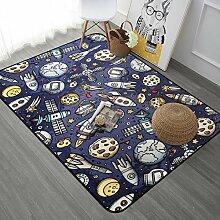 Teppich - Kinder Cartoon Teppich, Schlafzimmer