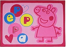 Teppich Kinder PEPPA PIG rosa