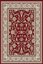 Teppich Klassisch 250 x 350 cm, rot, Schurwolle !!! (250x350 cm)