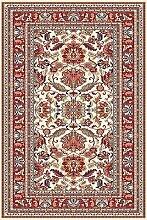 Teppich Klassisch 250 x 350 cm, weiß, rot, Schurwolle !!!