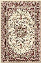 Teppich Klassisch, 250x350 cm, Schurwolle, beige, rot !!! (250 x 350 cm)