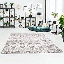 Teppich Klassisch Flachflor mit Ornamente,