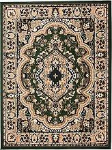 Teppich Klassisch Gemustert Orient Ornamente Oval