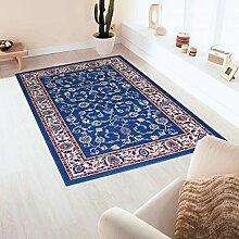 Teppich Klassisch wirtschaftlichen hellblau–einfach reinigen und sehr langlebig ROYAL SHIRAZ 2079-light Blue Cm. 280X380 blau
