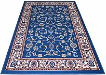 Teppich Klassisch wirtschaftlichen hellblau–einfach reinigen und sehr langlebig ROYAL SHIRAZ 2079-light Blue Cm. 200x300 blau