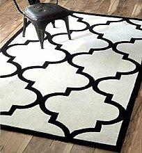 Teppich Klassische Teppich Wohnzimmer Decke Sofa Couchtisch Teppich Nachttischdecke ( größe : 200*230cm )